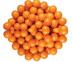Sixlets Orange Chocolate Candy, 10 Pounds