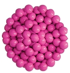 Sixlets Hot Pink Chocolate Candy, 10 Pounds
