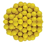 Sixlets Yellow Chocolate Candy, 10 Pounds