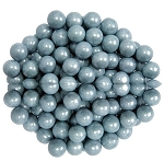 Sixlets Shimmering Silver Chocolate Candy, 10 Pounds