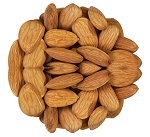 Raw Almonds 20 - 22 Per Ounce, (6.25 Pounds)