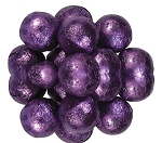 Milk Chocolate Purple Foil Wrapped Chocolate Balls, 10 Pounds