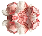 Sweets Candy Red Licorice Swirls Taffy, 3 Pounds