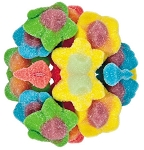 Gummy Peace Flowers, 6.6 Pounds