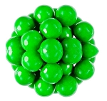 Oak Leaf Light Green One Inch Gumballs, (Pack of 850)