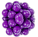 Oak Leaf Purple One Inch Gumballs, (Pack of 850)