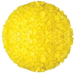 Yellow Rock Candy Crystals, 5 Pounds