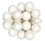 Oak Leaf Shimmering White One Inch Gumballs, (Pack of 720)