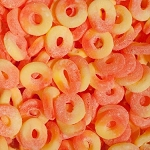 Albanese Sugar Free Gummy Peach Rings, 4.5 Pounds