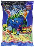 Albanese Sour Neon Gummy Worms, 4.5 Pounds