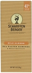Scharffen Berger Milk Chocolate Almond Bars, (Pack of 12)