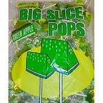 Big Slice Lollipops, Green Apple (Pack of 48)