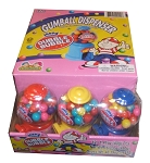 Dubble Bubble Gumball Dispenser Mini Gumball Machines, (Pack of 12)