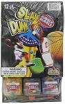 Dubble Bubble Slam Dunk Gum Dispenser, (Pack of 12)