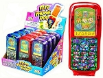 Flip Pop Phone Novelty Candy, (Pack of 12)
