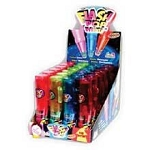 Mini Flash Pop Novelty Candy Toy, (Pack of 24)