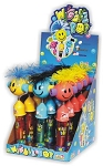 Wiggle Pop Novelty Candy Toy, (Pack of 12)
