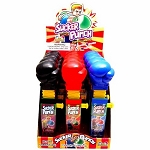Sucker Punch Novelty Candy Toy, (Pack of 12)