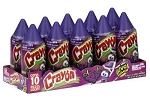 Jolly Rancher Grape Flavored Crayon Pops, (Pack of 10)