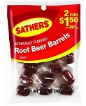 Sathers Root Beer Barrels, (Pack of 12)