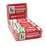 Bonomo Strawberry Taffy, (Pack of 24)