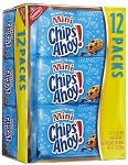 Mini Chips Ahoy Single Serve Packs, (Pack of 12)