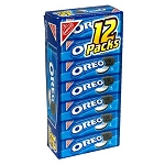 Oreo Cookies Single Serve Packs, (Pack of 12)