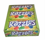 Sour Razzles Candy, (Pack of 24)