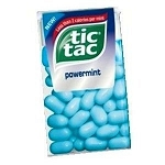 Tic Tacs Power Mints, (Pack of 12)