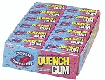 Quench Gum Double Raspberry, (Pack of 20)
