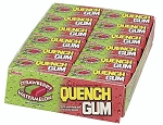 Quench Gum Strawberry and Watermelon, (Pack of 20)