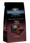 Ghirardelli Intense Dark Twilight Delight Squares 4.87 Ounce Bags, (Pack of 8)