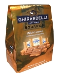 Ghirardelli Milk and Caramel Chocolate Squares Collection, (20.75 Ounce Variety Bag)