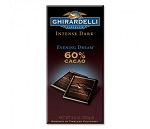 Ghirardelli Evening Dream Dark Chocolate Bars, (Pack of 12)