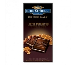 Ghirardelli Toffee Interlude Dark Chocolate Bars, (Pack of 12)