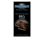 Ghirardelli Midnight Revere Intense Dark Chocolate Bars, (Pack of 12)