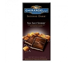 Ghirardelli Intense Dark Sea Salt Soiree Chocolate Bars, (Pack of 12)