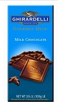 Ghirardelli Gourmet Milk Chocolate Bars, (Pack of 12)