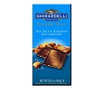 Ghirardelli Gourmet Sea Salt Symphony Milk Chocolate Bars, (Pack of 12)
