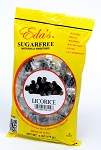 Eda's Sugar Free Licorice Candy, 6 Ounce Bags (Pack of 12)