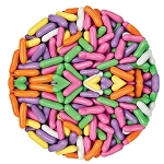 Marich Confectionery Licorice Pastels, (10 Pounds)