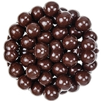 Marich Confectionery Dark Chocolate Sea Salt Caramels, (10 Pounds)