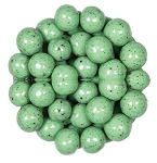Marich Confectionery Mint Chip Malt Balls, (15 Pounds)