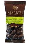 Marich Confectionery Chocolate Toffee Almonds 2.3 Ounce Bags, (Pack of 12)