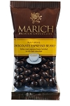 Marich Confectionery Chocolate Covered Espresso Beans 1.76 Ounce Bags, (Pack of 12)