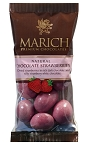 Marich Confectionery Chocolate Covered Strawberries 2.3 Ounce Bags, (Pack of 12)