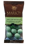 Marich Confectionery Mint Chip Malt Balls 1.76 Ounce Bags, (Pack of 12)