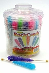 Rock Candy on a Stick, (Pack of 36)