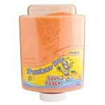 Pucker Powder Sour Peach Candy, 9 Ounces