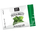 Project 7 Sugarfree Fresh and Breezy Gum .69 Ounce Packs, (Pack of 12)